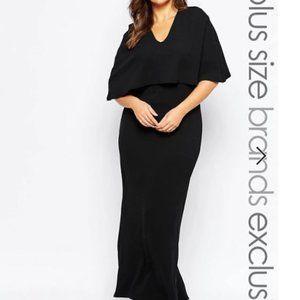 Club L black maxi dress